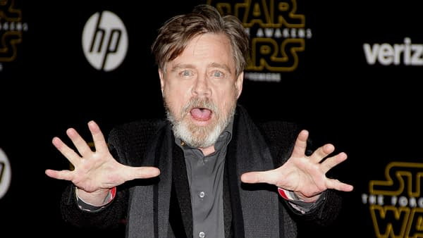 shutterstoMark Hamill at the World premiere of 'Star Wars: The Force Awakens' held at the TCL Chinese Theatre in Hollywood, USA on December 14, 2015. Editorial credit: Tinseltown / Shutterstock.comck_351343061