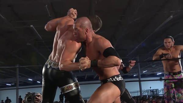 Throwback Thursday: Bullet Club & Stephen Amell vs SCU & Flip Gordon