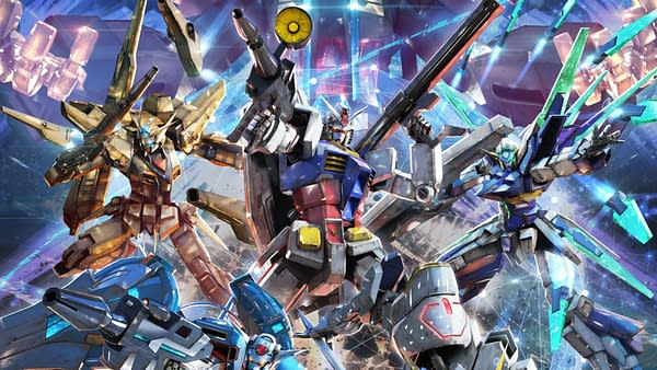 Mobile Suit Gundam Extreme Vs. Maxiboost On Art