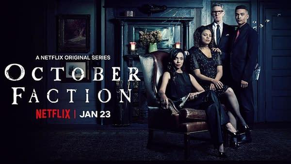 October Faction, a Netflix Original Series.