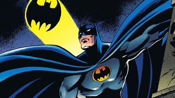 DC Comics' Batman character, in all of his masked, vigilante-style glory.