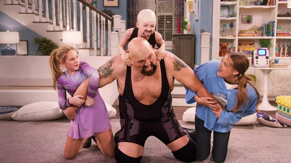 Big Show tackles family life in The Big Show Show, courtesy of Netflix.