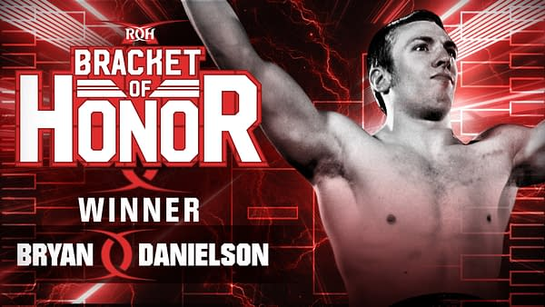 Bryan Danielson is the Winner of the Ring of Honor Championship Tournament.