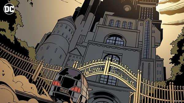Arkham Asylum Virtual Background