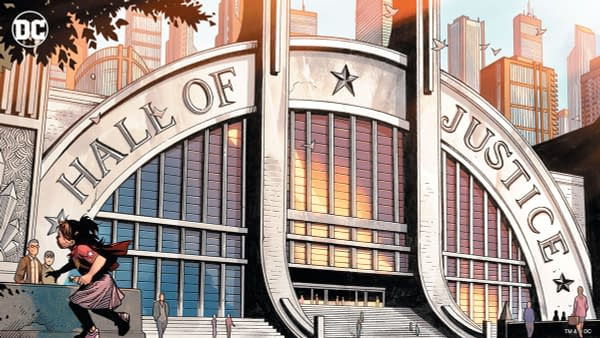 Hall of Justice Virtual Background