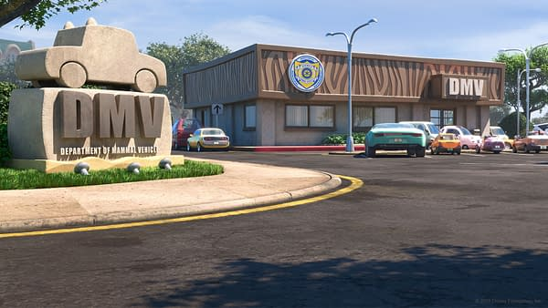The DMV from Zootopia.