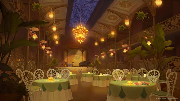 Tiana's Place from The Princess and the Frog.
