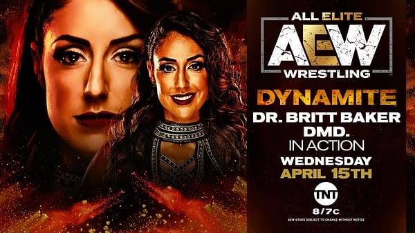 Following a potential career-altering performance last week, Britt Baker will be featured on Dynamite again.