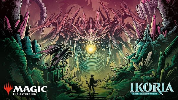Ikoria, Lair of the Behemoths artwork from Wizards of the Coast.
