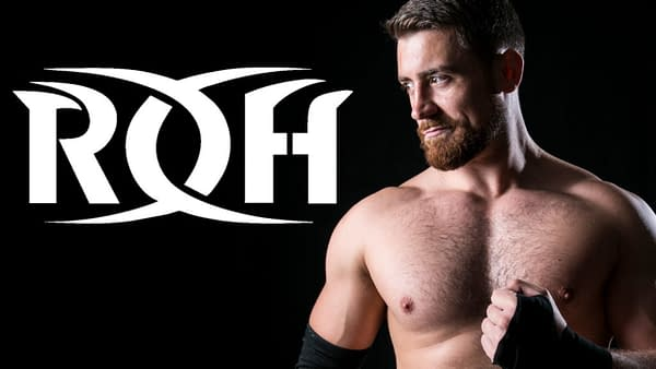 Joe Hendry is a man of the musical persuasion, image courtesy of Ring of Honor.