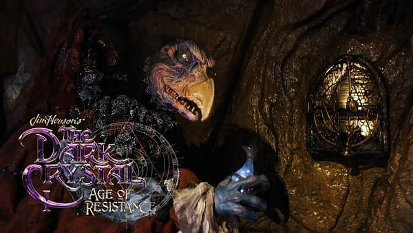[HD] The Dark Crystal: Age Of Resistance - Chamberlain Steals Mira's Essence