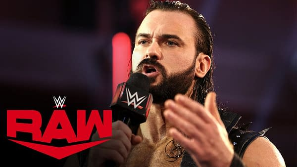 Drew McIntyre has a message for Seth Rollins on Monday Night RAW, courtesy of WWE.