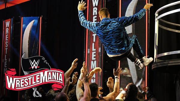 Rob Gronkowski makes an impact at WrestleMania 36, courtesy of WWE.