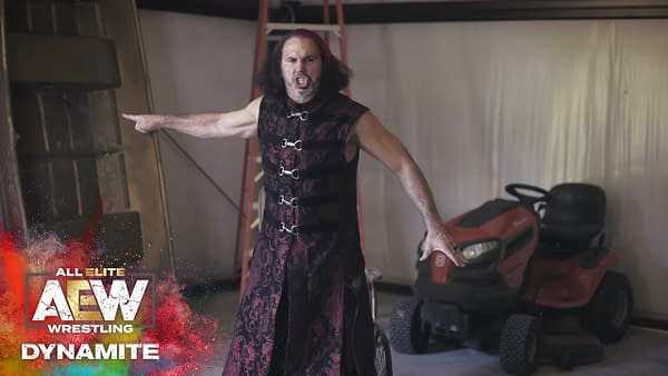 Matt Hardy issues a challenge on Dynamite, courtesy of TNT.