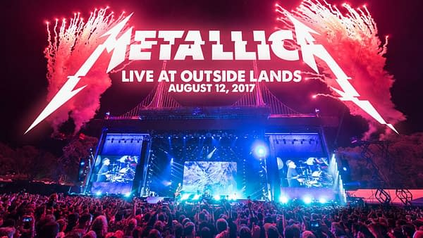 Metallica Mondays This Week is From Outside Lands in San Francisco