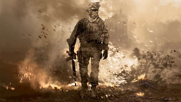 Modern Warfare 2 Remaster pose art