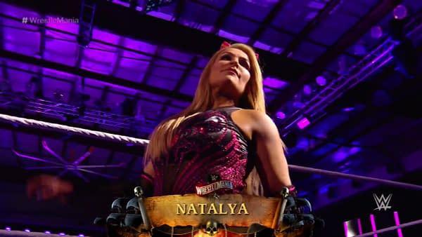 Natalya at WrestleMania 36
