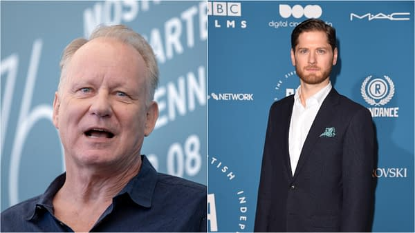 Stellan Skarsgard and Kyle Soller are reportedly joining the Rogue One prequel series, courtesy of Denis Makarenko, Featureflash Photo Agency, and Shutterstock.com.