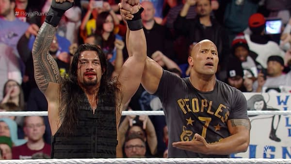 Not even The Rock can get fans to cheer Roman Reigns at the 2015 Royal Rumble.