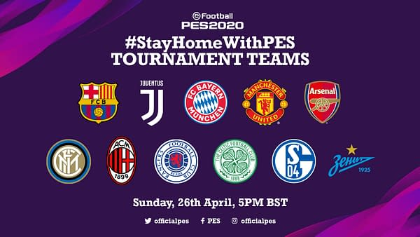 You can #StayHomeWithPES and watch this competition on Sunday.
