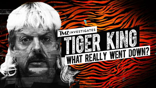 """Executive producer Harvey Levin presents TMZ Investigates: Tiger King - What Really Went Down?"""", courtesy of FOX."""