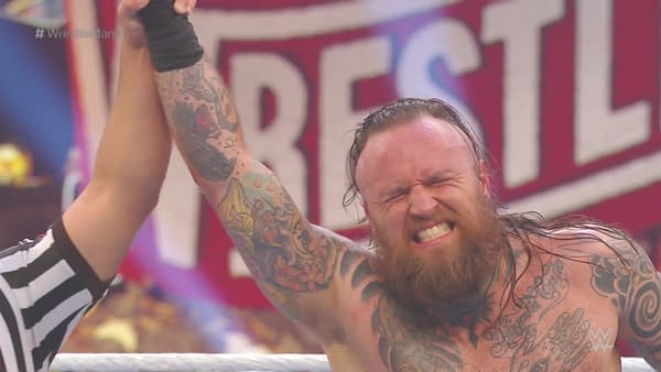 Aleister Black wins his match at WrestleMania 36