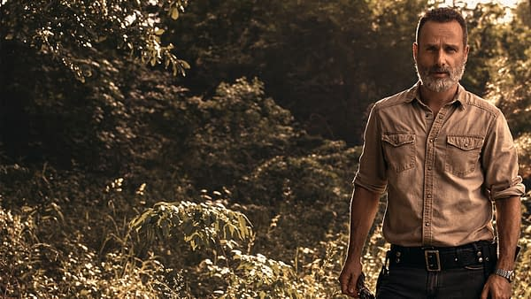 Forest Rick Zoom background from The Walking Dead, courtesy of AMC.