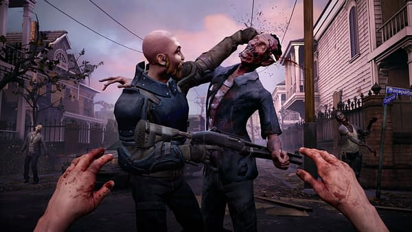 The Walking Dead: Saints & Sinners is now available on PSVR.