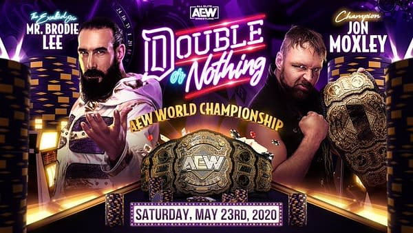 Brodie Lee challenges Jon Moxley for the AEW World Championship at AEW Double or Nothing