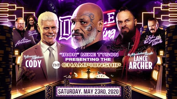 Cody Rhodes takes on Lance Archer in the final match of the TNT Championship Tournament at AEW Double or Nothing