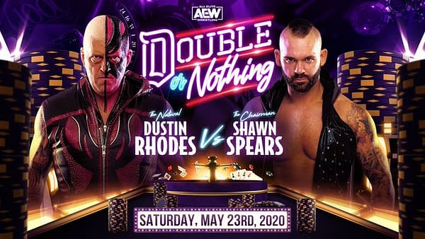 Dustin Rhodes takes on Shawn Spears at AEW Double or Nothing