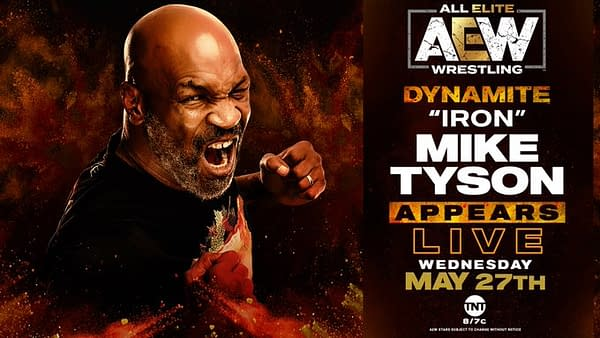 Mike Tyson appears on Dynamite this week.