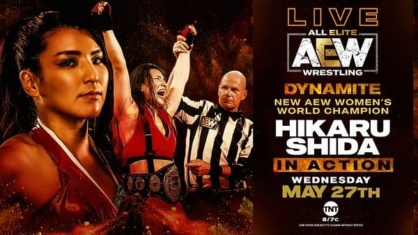AEW Women's Champion is in action on Dynamite.