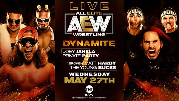 Joey Janela and Private Party take on Matt Hardy and the Young Bucks