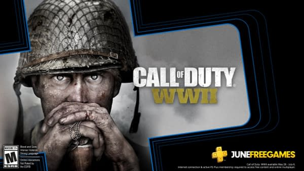 Call of Duty: WWII will be part of June's free PlayStation Plus games.