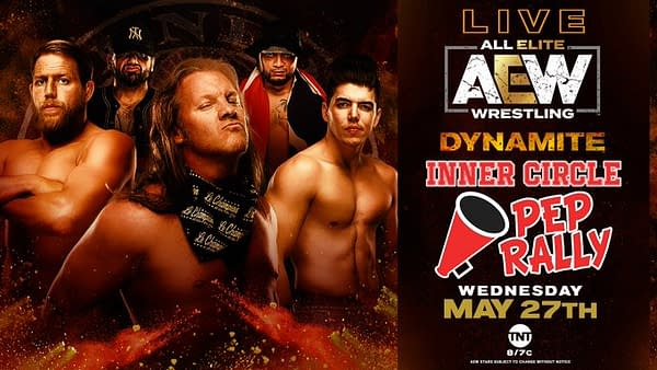 The Inner Circle will hold a pep rally on AEW Dynamite.