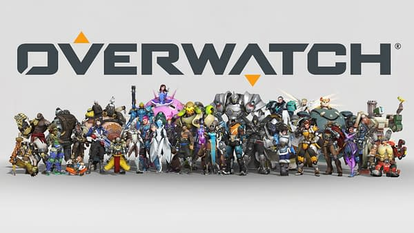 All 30 characters on display for the Overwatch Anniversary event.