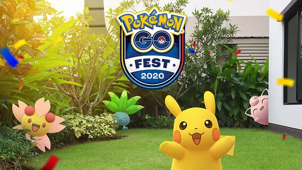 Pokémon GO Fest will take place between July 25-26th, 2020. Courtesy of Niantic.