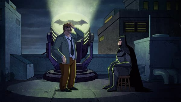 What Was All That About #Batman Sitting Down in #HarleyQuinn S02E05?