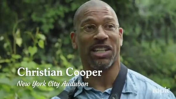 Comics Industry Reaction to... Christian Cooper in Central Park.