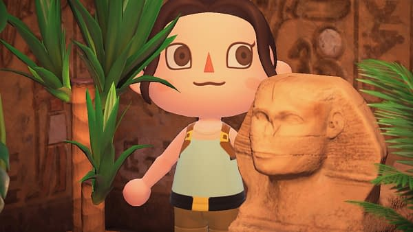 Now you can really go looking for fossils, artwork, and treasure as Lara Croft.