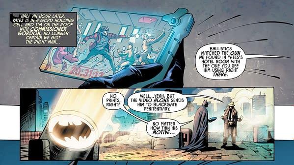 Batman Fights #MeToo in Gotham Knights #2.