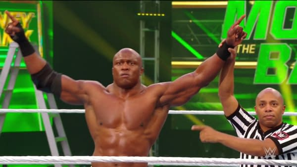 Bobby Lashley is victorious at WWE Money in the Bank