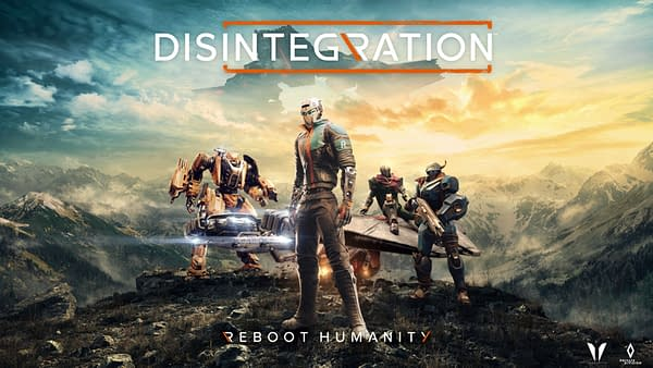 Disintegration Main Art