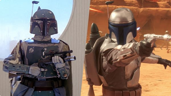Temuera Morrison has played Jango Fett and will now play Boba Fett on The Mandalorian, courtesy Star Wars.com