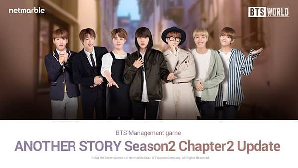 Season 2 Chapter 2 is on the way for BTS World, courtesy of Netmarble.