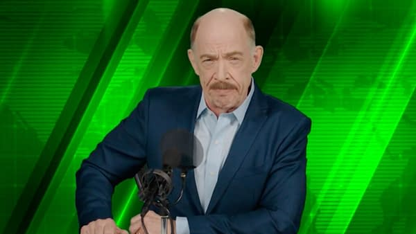J.K. Simmons as J. Jonah Jameson in Spider-Man: Far From Home. Credit: Sony Pictures