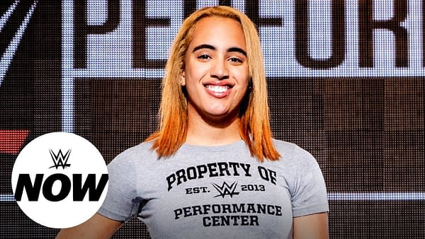 Simone Johnson begins training at WWE Performance Center, and The Rock is proud: WWE Now, Feb. 10, 2020