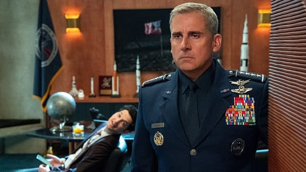 Steve Carell's 'Space Force' Netflix show will blast off in May, lands big-name co-star