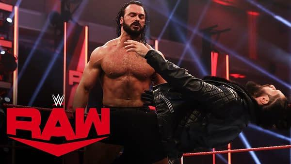 Drew McIntyre has had enough of Seth Rollins, courtesy of WWE.